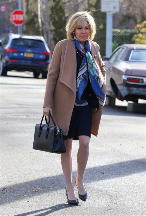 Sienna Miller in a Beige Coat on the Set of The Loudest