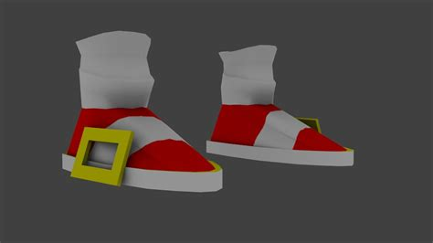 Sonic's shoes   Team Fortress 2 Skin Mods
