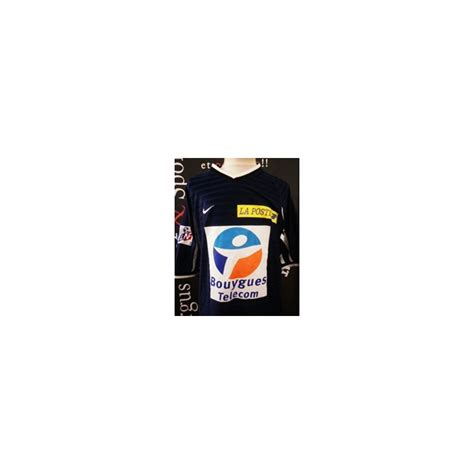 Maillot MONTPELLIER HERAULT porté SORLIN N°7 LNF taille L