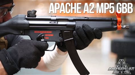 WE Tech Apache A2 MP5 GBB Airsoft SMG - AirSplat On Demand