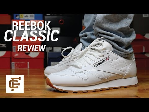 Reebok CL Leather Suede Femmes Trainers: Amazon
