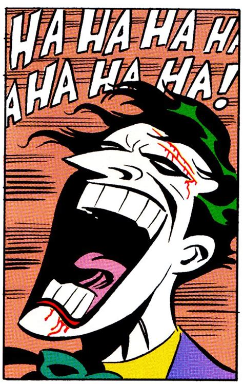 The Joker by Bruce Timm * (Your reading this in Mark