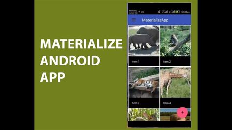 MATERIALIZE ANDROID APP   App, Android apps, Programming