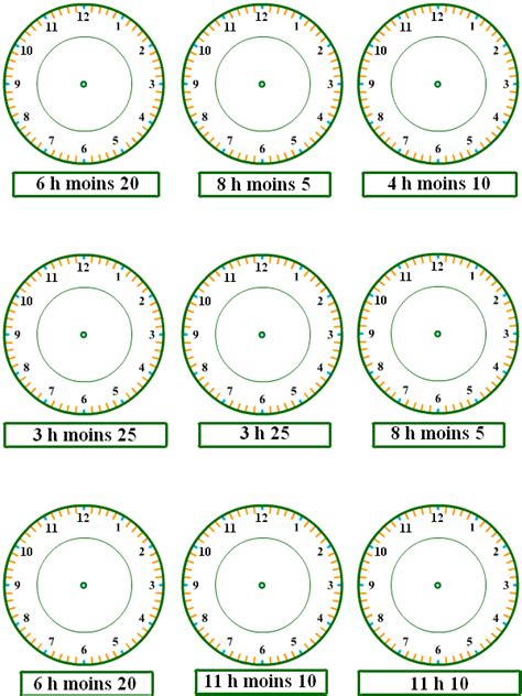 les heures 2 | french class | Pinterest | French class