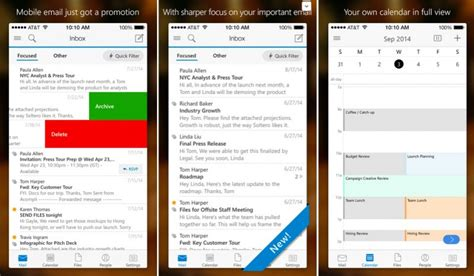 Microsoft Launches Outlook for iOS with iCloud, Gmail