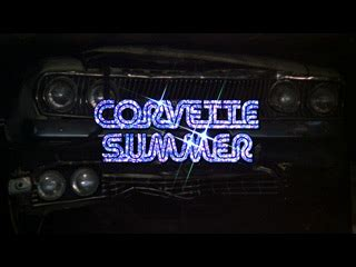 Corvette Summer (1978) title sequence | the Movie title