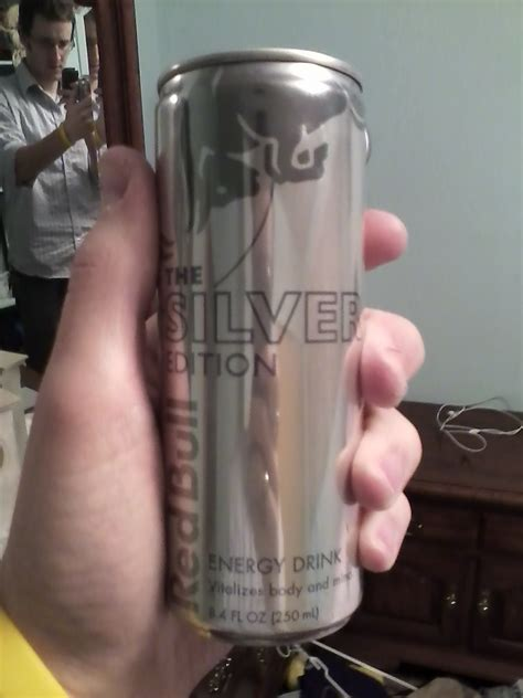 CAFFEINE!: Review for Red Bull--The Silver Edition
