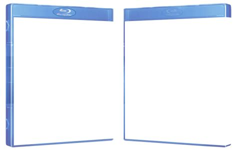 Blu-ray : 3D Case template
