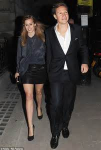 Princess Beatrice wears leather mini skirt as she parties