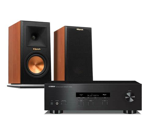 Yamaha RS202 Stereo Receiver Kit w/ Klipsch RP150M (Pair