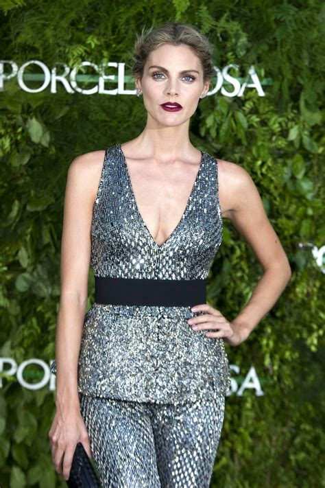 Amaia Salamanca at the Porcelanosa Store Opening in Madrid