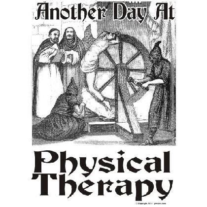 MD ☞ Funny Physical Therapy Cartoons