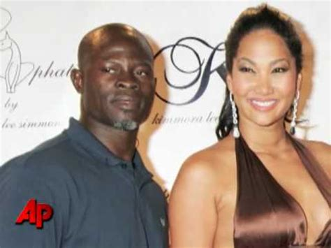 Russell Simmons' Ex Kimora Delivers Baby Boy - YouTube