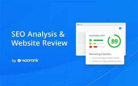 SEO Analysis & Website Review by WooRank - Chrome Web Store