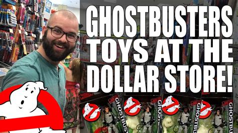Ghostbusters action figures showing up at dollar stores