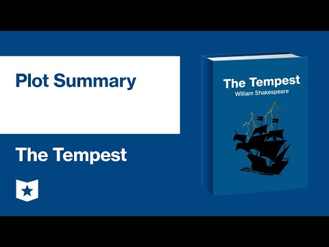 Essay on the tempest by william shakespeare