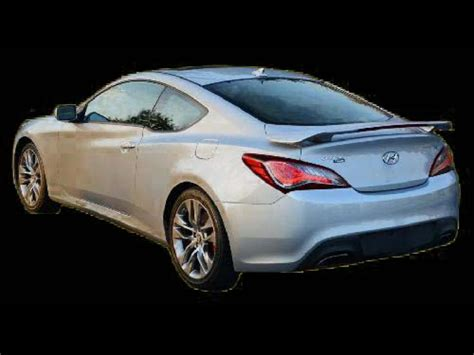 2010-2012 Hyundai Genesis Coupe Factory Style Rear Wing