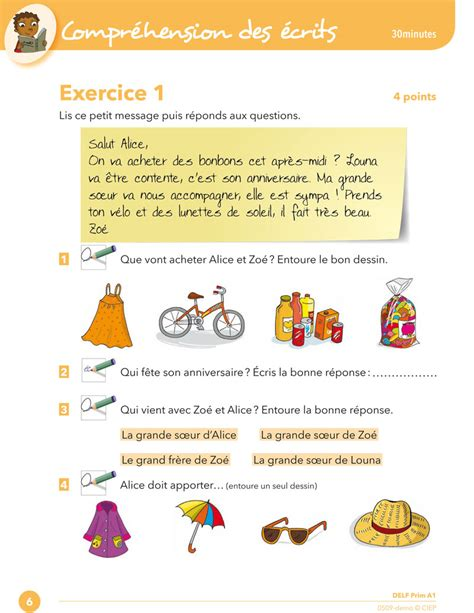 Reading comprehension - Exercise 1 | CIEP