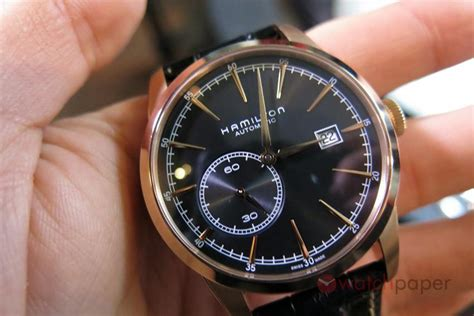 A hands-on preview of Hamilton's 2015 novelties   WatchPaper