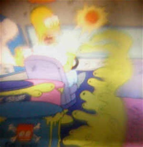 The Simpsons Nuclear Waste Truck (early 1990s)