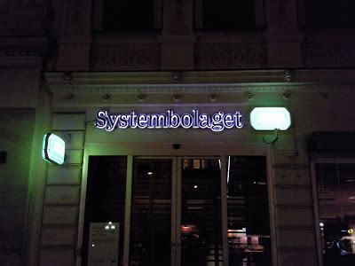 Live from Göteborg: Swedish Fact #6 : Systembolaget