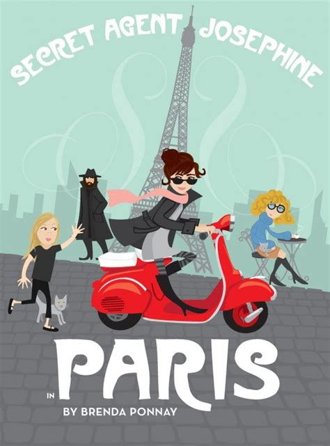 Secret Agent Josephine in Paris is Not a Book for Boys